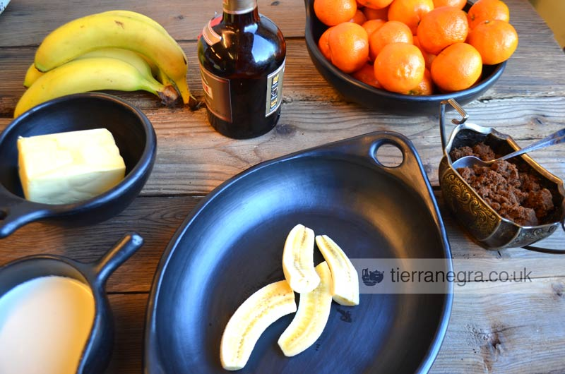 Latin style banana fritas ingredients
